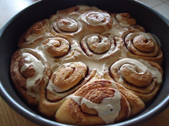 Cinnamon Rolls with Coffee Glaze (recipe courtesy of Sally's Baking Addiction)
