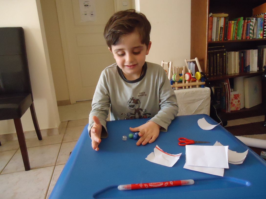Just one more 'little' thing we've accomplished: using scissors!