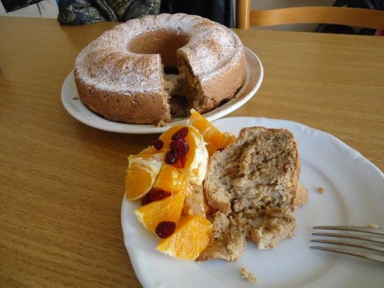 Afternoon Snack Idea: Gluten free, Vegan Tahini Cake