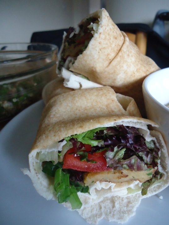 Another great vegan lunch idea: Falafel Wrap