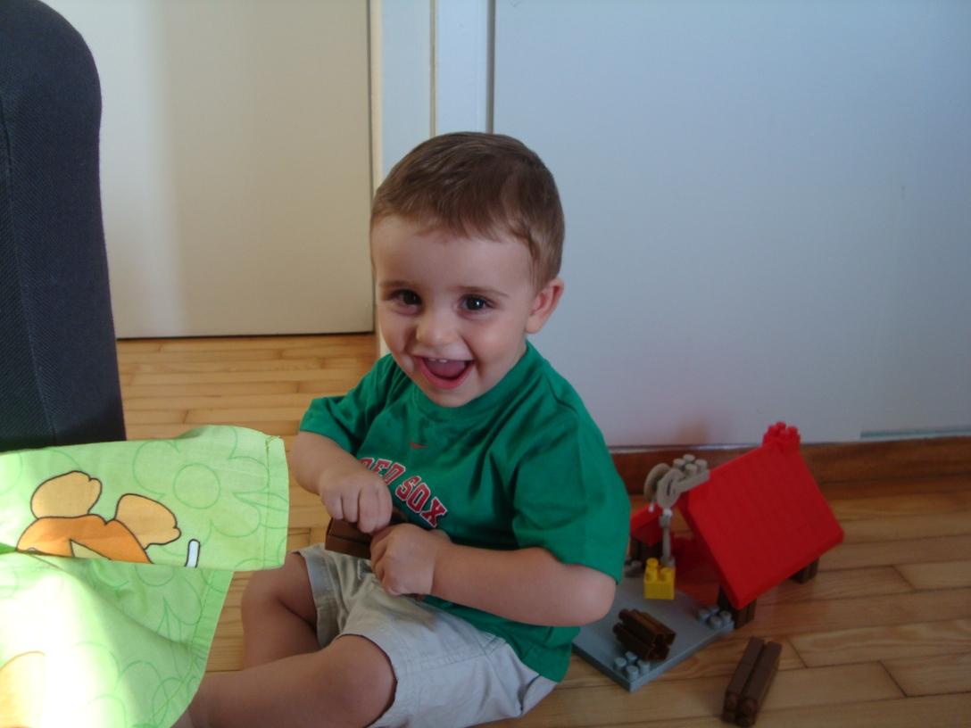 One year old Panayioti