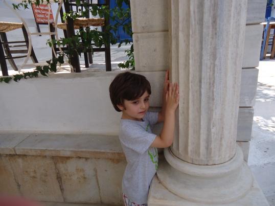 Last summer's 'vacation' in Tinos